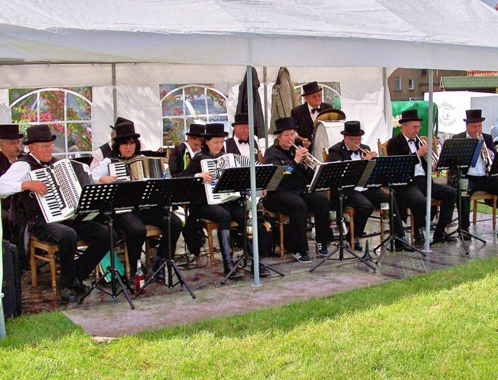 Musike auf dem Hoffest